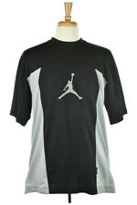 Air Jordan Men Tops Graphic Tees LG Black Polyester