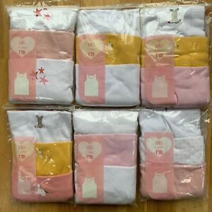 Girls Pack of 3 Mothercare Vests Top Age 5 - 6 Years