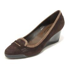 25510 decollete donna TOD'S zeppa scarpe shoes women