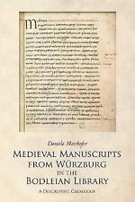 Mairhofer-Medieval Manuscripts from W3rzburg BOOKH NEW
