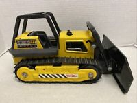 "RARE # 2961 TONKA #5054 BULLDOZER 13"" Long with TREADS Pressed Steel 1983"