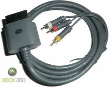 Genuine Microsoft Xbox 360 Standard AV Cable -Composite RCA Audio Video Cord NEW