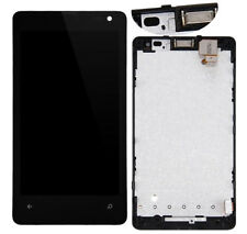 New For Microsoft Lumia 435 RM-1070 LCD Touch Screen Digitizer Assembly +Frame @
