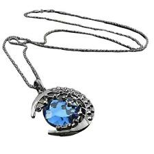 The Vampire Diaries Crescent Star Luxury Pendant Sweater Long Chain Necklace