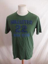 T-shirt Hollister Vert Taille M à - 51%