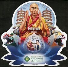 SOLOMON ISLANDS 2016 DALAI LAMA PHILATAIPEI SOUVENIR SHEET MINT NEVER HINGED