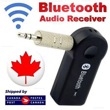 Wireless Bluetooth Adapter 3.5mm Aux Audio Music Receiver Stereo Car Mic