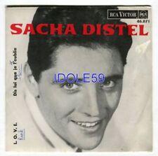 Vinyles love chanson française 45 tours