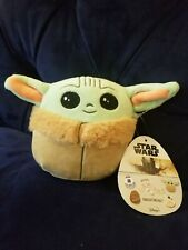 "Star Wars Baby Yoda 5"" Inches The Child Squishmallow New Rare"