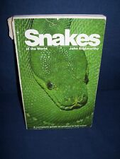 Snakes of the World John Stidworthy Bantam Books Used Softcover  1972