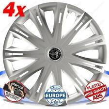 Set 4 Bolzen Rad Abdeckung Rad Kappen 16 Spark für Alfa Romeo Giulia