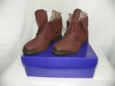 MADDEN GIRL RUXBEN BURGUNDY ANKLE BOOT NEW IN BOX SIZE 7.5