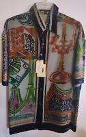 NEW Men's Creme De Silk Premium Fashion 100% Silk Soft Shirt (WORSHIP)