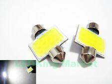 10x Bright White 2W COB LED Festoon 31mm INTERIOR Dome Reading 3021 Wedge Light