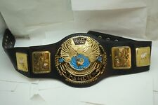 WWF BELT REPLICA WORLD WRESTLING FEDERATION CHAMPION TITLE BIG EAGLE AS IS