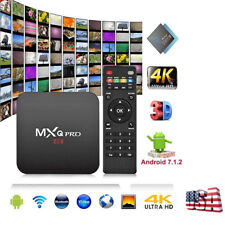 Mxq Pro Set Top Tv Box Uhd 4K Android 7.1 Hdmi 18.0 S905W Quad Core 1+8G Wifi