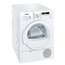 Secadoras superioras Siemens color principal blanco