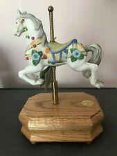 Willitts Designs Ltd Edition Heritage Collection Carousel Horse Music Box #8089