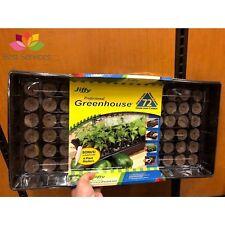 SEEDLING JIFFY SEED STARTER KIT Tray 72 Pellets Greenhouse Plant Propagation Pot