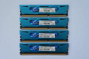 16GB (4x4GB) G.SKILL Ares DDR3 Memory 2400MHz CL11 PC3-19200 F3-2400C11Q-16GAB