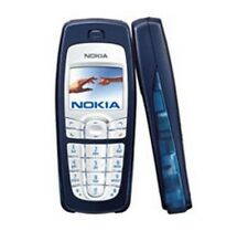 Nokia 6010 GSM Bar Style Cell Phone AT&T/T-Mobile Unlocked Blue with Batiery