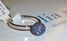 """NWT/NIB - LIA SOPHIA """"CIRQUE"""" RING - PURPLE CRYSTAL GLITTER BALL - SZ 5 - $38"""