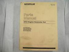 CAT Caterpillar 3412 GENERATOR SET   PARTS MANUAL 81Z1-4999 SEBP1364-06