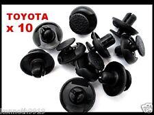 TOYOTA RAV 4 LAND CRUISER fender clips en plastique de remplacement push-type T33