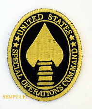 SOCOM PATCH SPECIAL OPERATIONS COMMAND US ARMY MARINES NAVY AIR FORCE USCG CIA