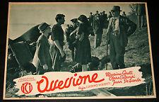 fotobusta film OSSESSIONE Luchino Visconti M.Girotti Clara Calamai 1943 #17