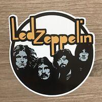 """Led Zeppelin 3.5"""" Wide Vinyl Sticker - BOGO"""