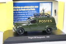 Norev Presse 1/43 - Peugeot 203 Fourgonnette 1950 Postes Poste
