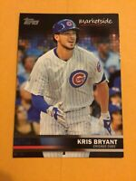 2016 TOPPS MARKETSIDE #41 baseball card - KRIS BRYANT - CHICAGO CUBS