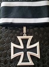 Grand croix de la croix de fer 1870 avec ruban - REPRO de qualité