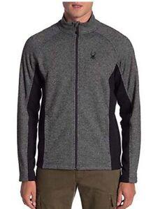 Spyder M Constant Full Zip Stryke Fleece Sweater Jacket, Men's Size M, NWT