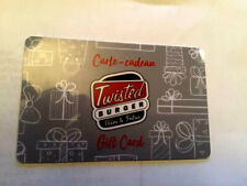 TWISTED BURGER Restaurant Gift Card  NO VALUE RECHARGEABLE !