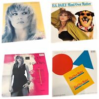 """E.G. Daily-12""""Vinyls VG+Love In The Shadows & Mind Over Matter(Hi NRG-Synth Pop)"""