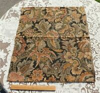"""Exotic Dramatic 19thC French Woven Jacquard Tapestry Sample Fabric~~29""""X24"""""""