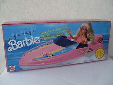 barbie motoscafo speedboat bateau speedboot schnellboot barca ok 1990 NRFB 8770