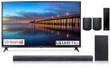 "LG 49"" UJ6300 4K UHD Smart LED TV with LG SJ4Y Soundbar with rear Speaker KIT"