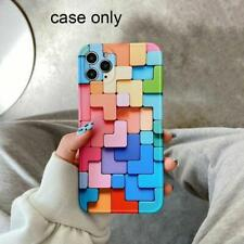 Cell Phone Case Colorful 3 D Silicone Cover Shockproof Mobile Skin Accessories