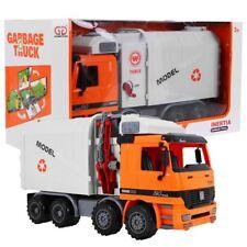 Kinder auto LKW Müllwagen 37cm Frontantrieb Müllbehälter angehoben NEU OVP