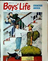 Boys Life Magazine February 1961 Norman Rockwell Loch Ness Monster Boy Scouts