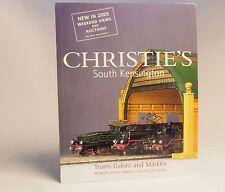 CHRISTIE'S Model Railway Train Bassett Bing Hornby Marklin Auction Catalog 2004