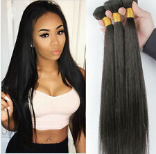 """3 Bundles 20"""" Remy Brazilian Straight Human Hair Weave Extensions 150g  US STOCK"""