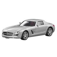 Mercedes-Benz Modellauto 1:87 PKW SLS AMG C197 silber B66960023