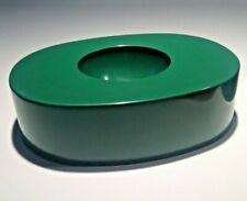 """Olivetti, posacenere """"O"""" verde, design Giorgio Soavi"""