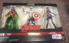 Marvel Legends Series Marvel's Vision Sam Wilson Kate Bishop Avengers TRU 3 PACK