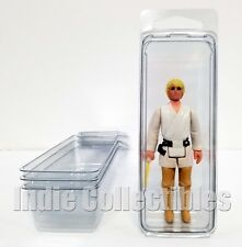 STAR WARS BLISTER CASE LOT OF 4 Action Figure Display Protective Clamshell SMALL