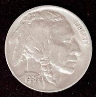 1936-P Indian Head Buffalo Nickel Nice AU++